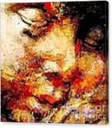 Sleep 0377 Marucii Canvas Print