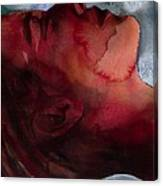 Sleeper Head Canvas Print