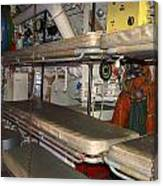 Sleeping Area Russian Submarine Canvas Print