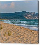Sleeping Bear Dunes At Sunset Canvas Print