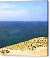 Sleeping Bear Dunes Panorama Canvas Print