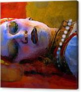 Sleeping Beauty In Waiting Canvas Print