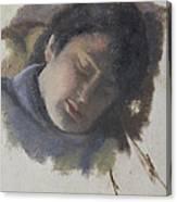 Sleeping Gabi Canvas Print