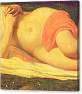 Sleeping Nymph Canvas Print