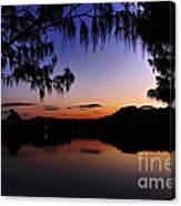 Sleeping Sun Canvas Print