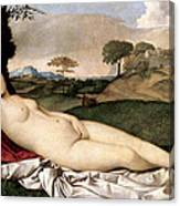 Sleeping Venus Canvas Print