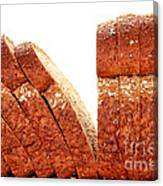 Sliced Bread Canvas Print