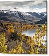 Slide Lake Canvas Print