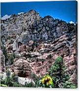 Slide Rock Canyon Canvas Print