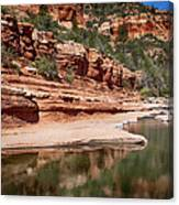 Slide Rock State Park Canvas Print
