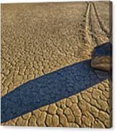 Sliding Rock Of Racetrack Playa Canvas Print