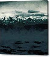 Slippery Surface Canvas Print