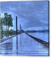 Slippery When Wet Canvas Print