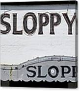 Sloppy Joes Key West Canvas Print