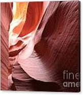 Slot Canyon Color Blend Canvas Print