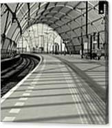 Sloterdijk Station In Amsterdam Canvas Print
