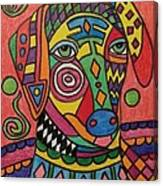Sloughi Dog Canvas Print