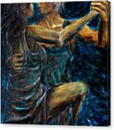 Slow Dancing II Canvas Print