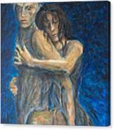 Slow Dancing Vi Canvas Print