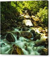 Slow Moving River Canvas Print