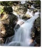 Slow Shutter Waterfall Scotland Canvas Print