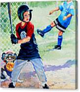 Slugger And Kicker Canvas Print