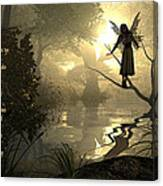 Slumber Fairies Canvas Print