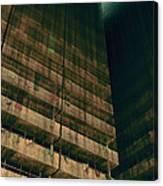 Slums Of Metropolis Canvas Print
