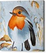 Small Bird Canvas Print