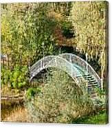 Small Bridge In The Park Canvas Print