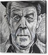 Small Change for Tom Waits Canvas Print