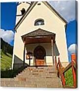 small church in Penia Canvas Print