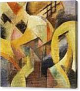 Small Composition 1913 Canvas Print
