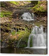 Small Falls At Parfrey's Glen Canvas Print