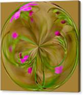 Small Pink Buds Canvas Print