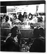 Small Town Cafe, 1941 Canvas Print