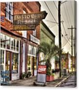 Small Town U. S. A. Canvas Print