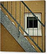 Small Window Canvas Print