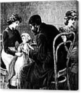 Smallpox Vaccination, 1883 Canvas Print