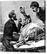 Smallpox Vaccine, 1883 Canvas Print