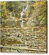 Smalls Falls In Autumn Western Maine Canvas Print
