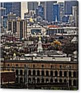 Smart City Life Canvas Print