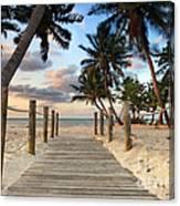 Smathers Beach 2 Canvas Print
