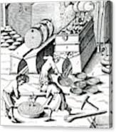 Smelting Copper Canvas Print