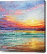 Smile Of The Sunrise Canvas Print