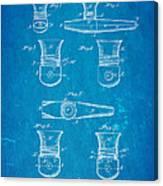 Smith Kazoo Musical Toy Patent Art 1902 Blueprint Canvas Print