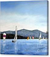 Smith Mountain Lake Regatta #4 Canvas Print