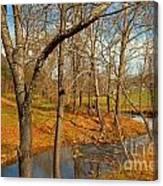 Smith River Virginia Canvas Print