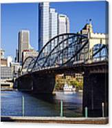 Smithfield Street Bridge Canvas Print