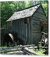 Smoky Mountain Grist Mill Canvas Print